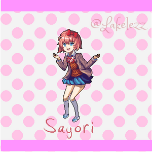 Sayori from Doki Doki Literature Club!