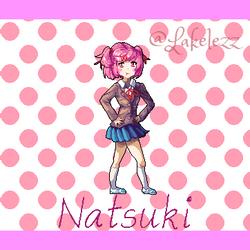 Natsuki from Doki Doki Literature Club!