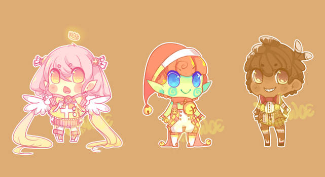 Christmas Adoptables [CLOSED]