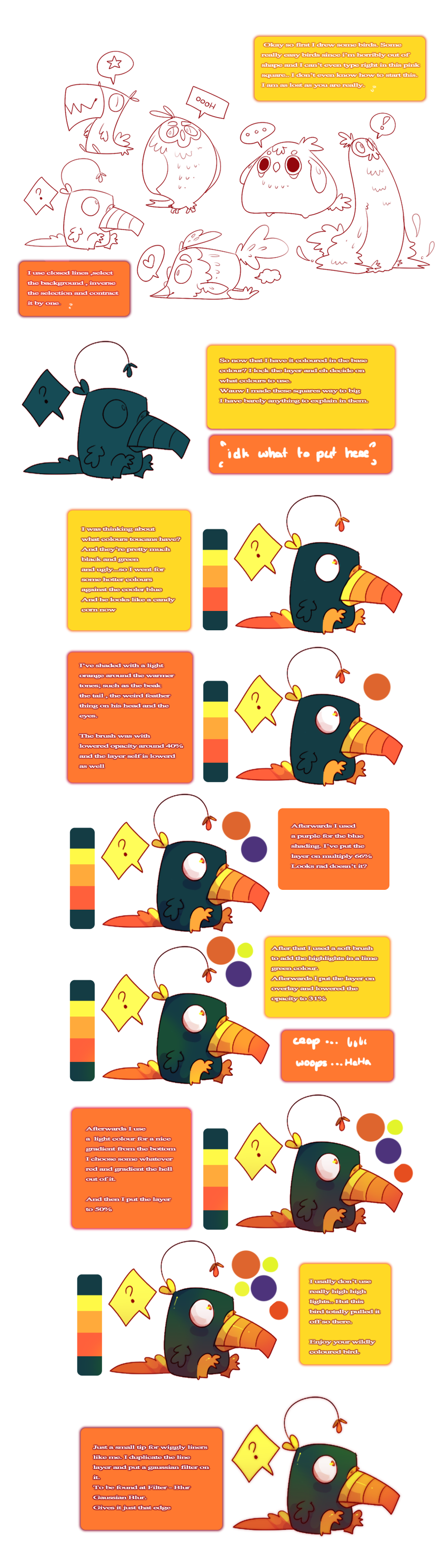 Woe's colouring tutorial by Woestijn