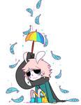 It's raining fish
