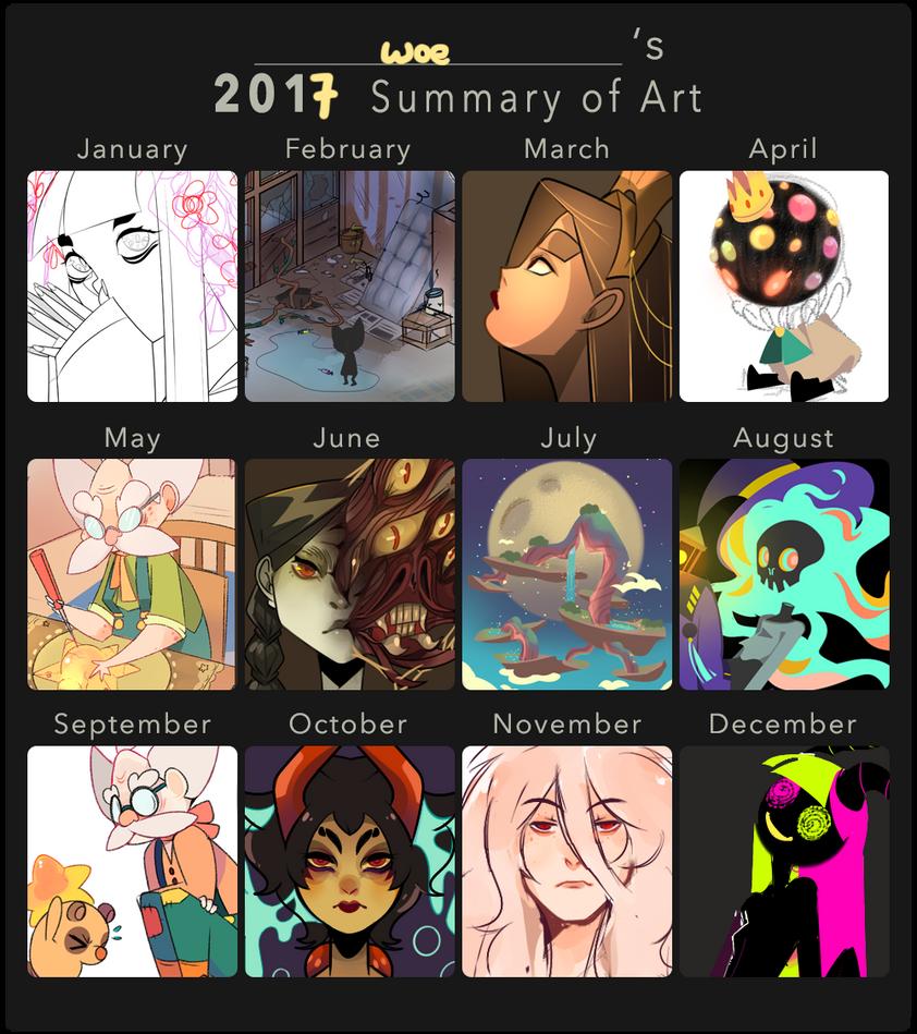 2017 art summary