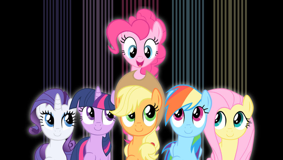 Mane6 wallpaper 1 by Chaz1029