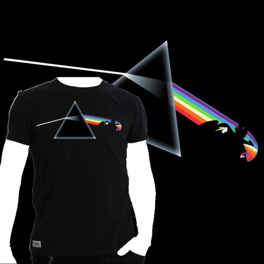 Dash side of the moon (T-shirt) by Chaz1029