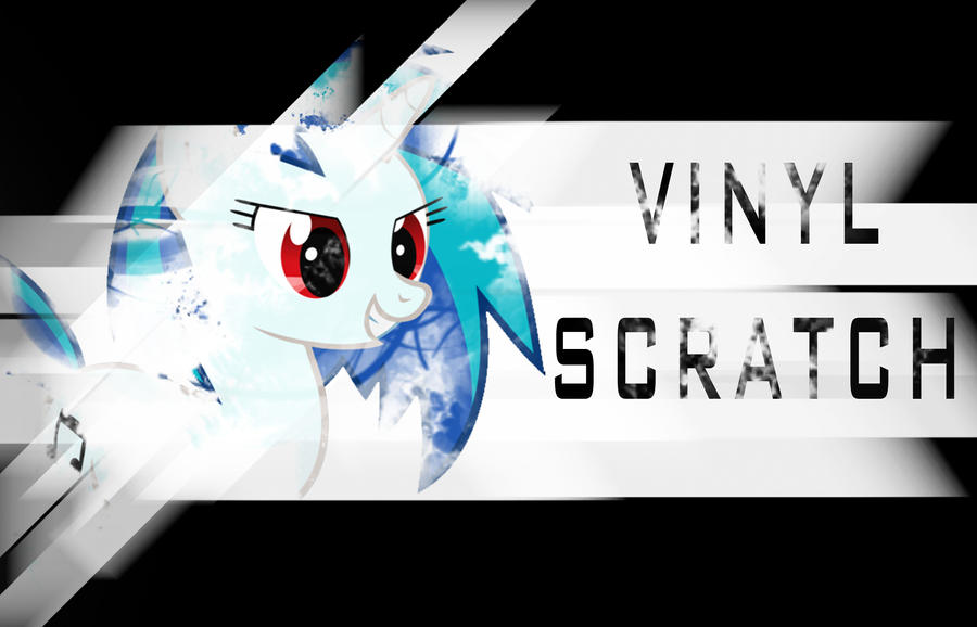 Vinyl scratch wallpaper 3 by Chaz1029