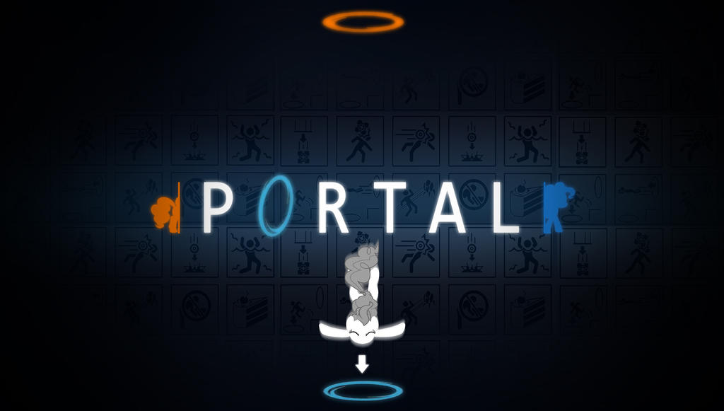 MLP portal wallpaper by Chaz1029