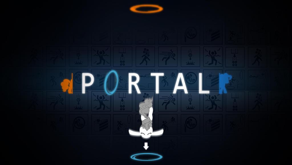 MLP portal wallpaper by Chaz1029
