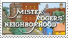 Mr. Rogers Neighborhood Stamp by Nemo-TV-Champion