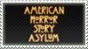 American Horror Story: Asylum Stamp V2 by Nemo-TV-Champion