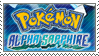 Alpha Sapphire Stamp by Nemo-TV-Champion