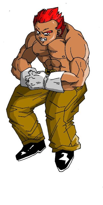 My character ( paul ) by goku1580