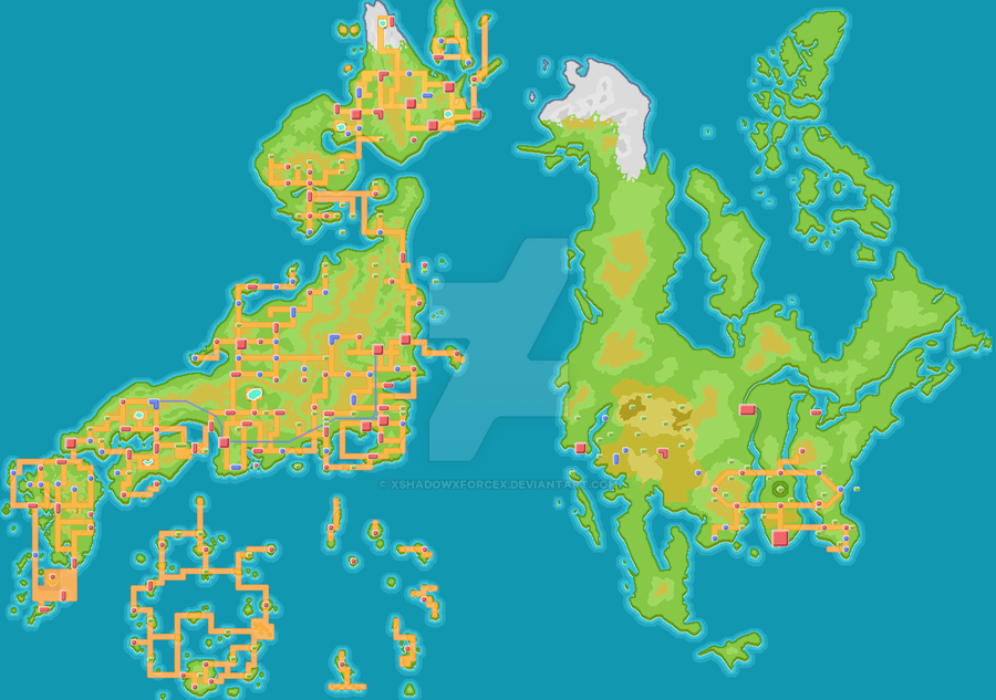 Pokemon world by xshadowxforcex on deviantart pokemon world by xshadowxforcex gumiabroncs Images