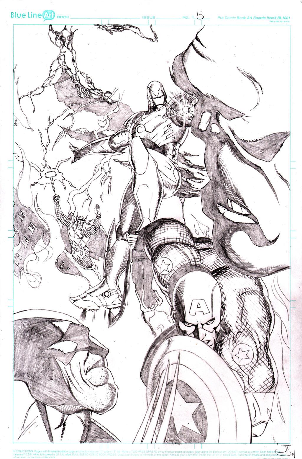 Wolverine Vs Hulk Page 5