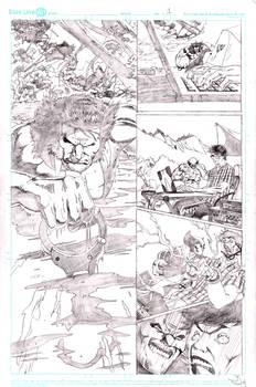 Wolverine Vs Hulk Page 1