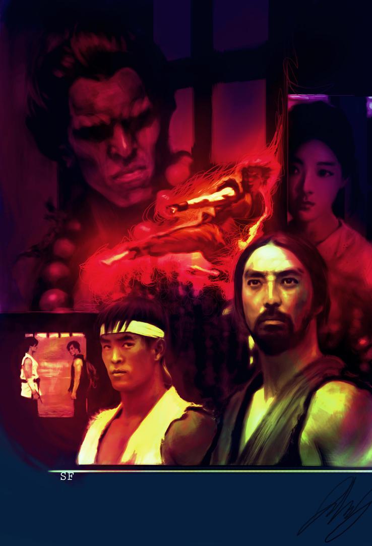 Street Fighter Assassin's Fist Poster by shinkusuarez88
