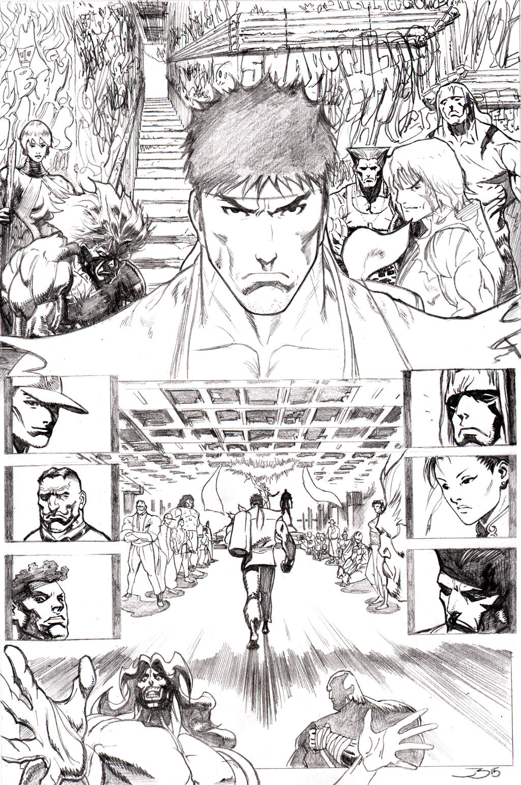 Street Fighter Page 7