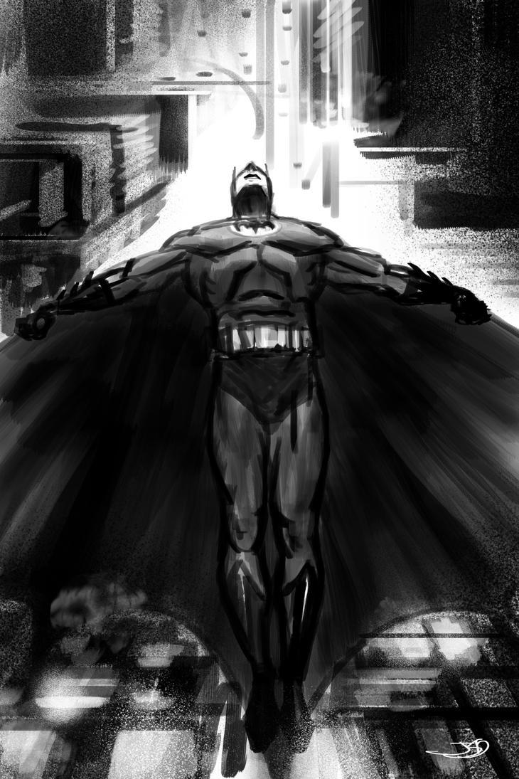 Bat-Sketch Day 4 by shinkusuarez88