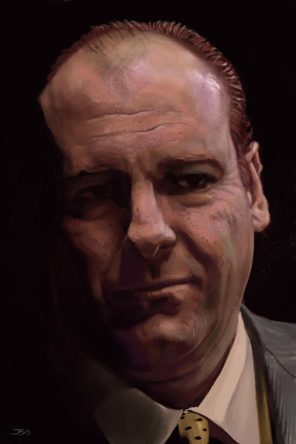 Anthony Soprano  by shinkusuarez88