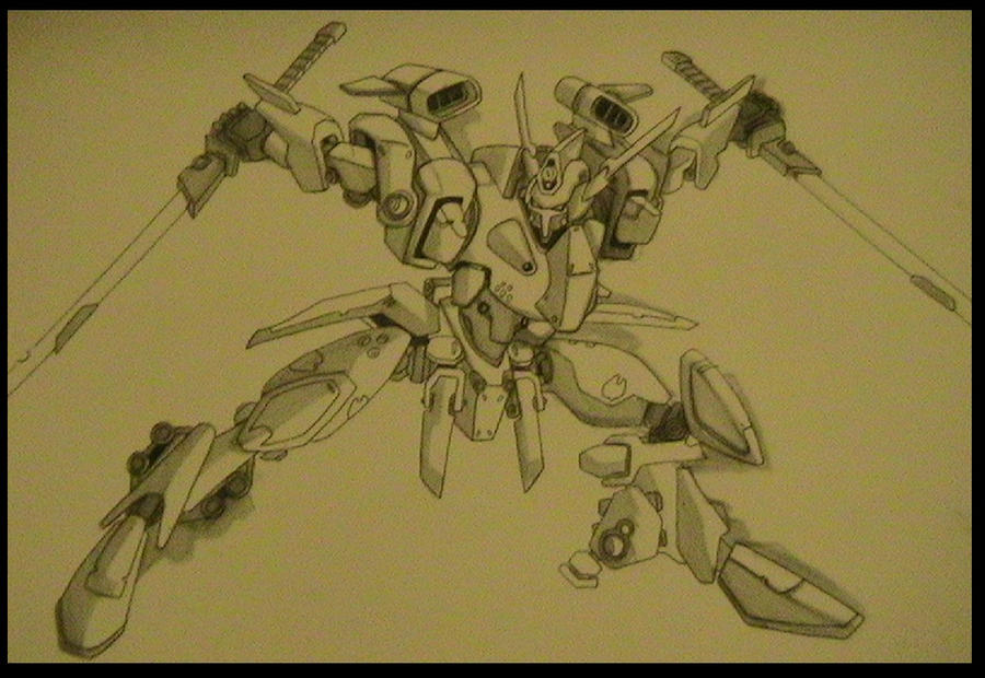 Mecha design commision by yanharrison