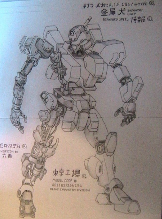 mecha design 06 by yanharrison
