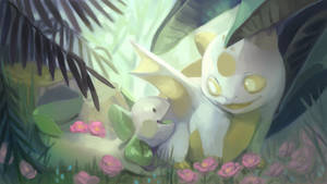 [Tessarium] A friend amidst the flowers