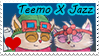 Teemo X Jazz Stamp by Tiera-The-Yordle