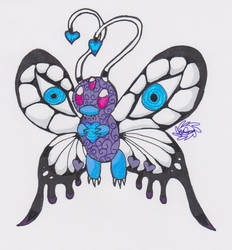 Hypnotist Butterfree by Tiera-The-Yordle