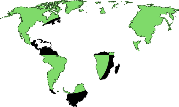 Nuuk Empire Flag Map