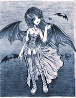 Succubus by CookieLin