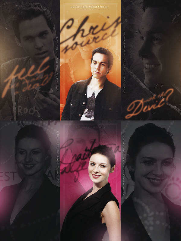 Chris Wood and Caitriona Balfe (Avatars) by KATTYsunrise