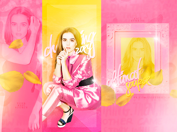 Zoey Deutch Avatar by KATTYsunrise