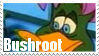 Bushroot Stamp by Names-Tailz