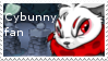 Cybunny fan stamp by Names-Tailz