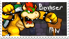 Bowser Fan stamp by Names-Tailz