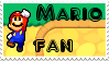Mario fan stamp by Names-Tailz