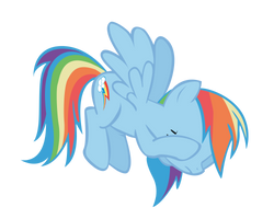 Rainbow Dash Hoofpalm by Names-Tailz