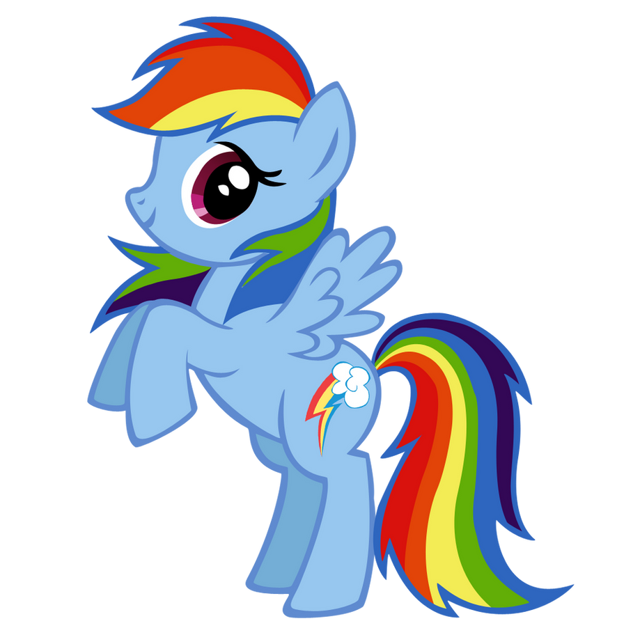 Mlp Rainbow Dash Cake Ideas And Designs
