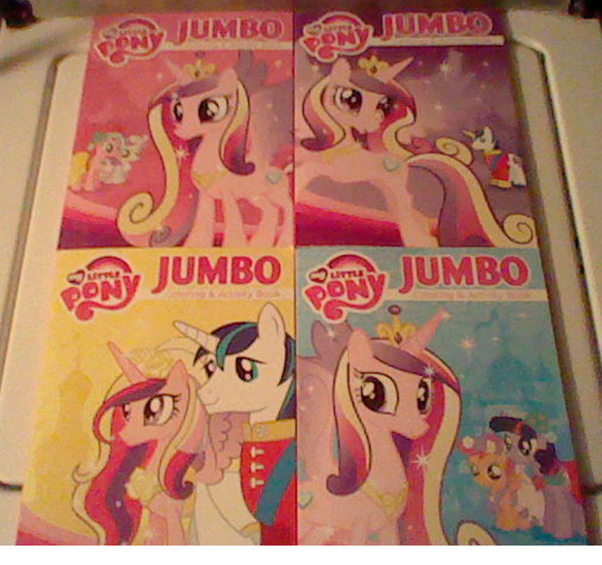 My Little Pony Friendship is Magic Coloring books by Names ...