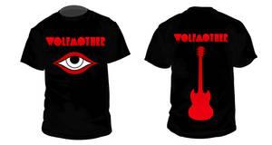 Wolfmother T-shirt Design