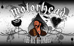 Motorhead W Vector Lemmy by FacelessRebel