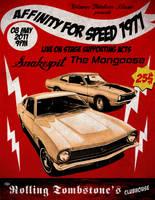 AFS71 gig Poster by FacelessRebel