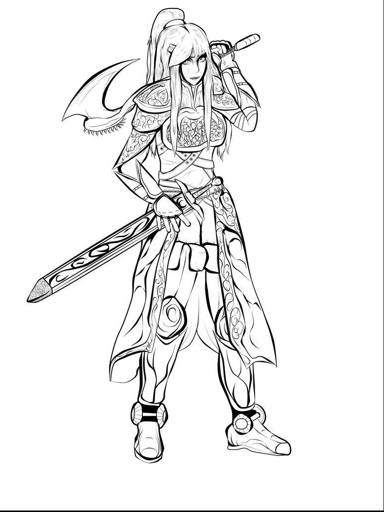 Single Line Character Art : Imaklez deviantart