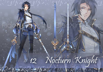 [Auction CLOSE] Adoptable Nocturn Knight
