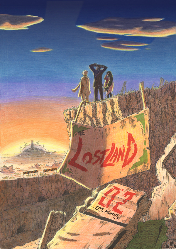 The Lostland: Volume 2 Cover by JM-Henry