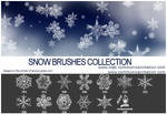 Snow Flakes Brushes