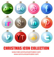 Christmas Social Icon by CommunicAnimation