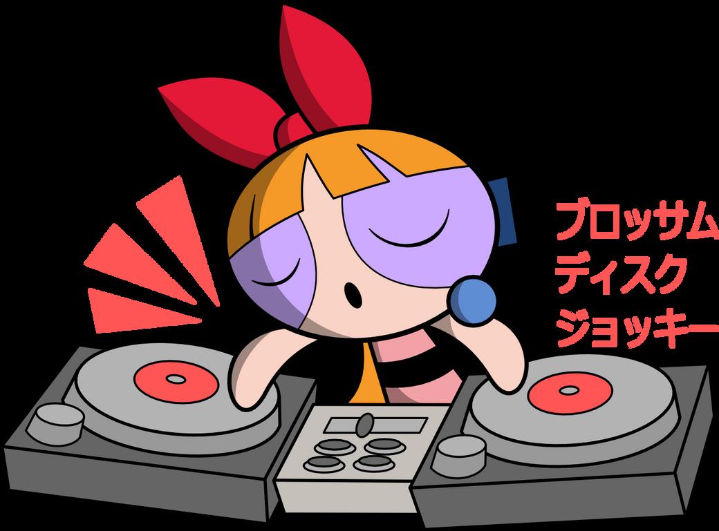 Yunomi Niki style Blossom Disc Jockey by AJthePPGfan
