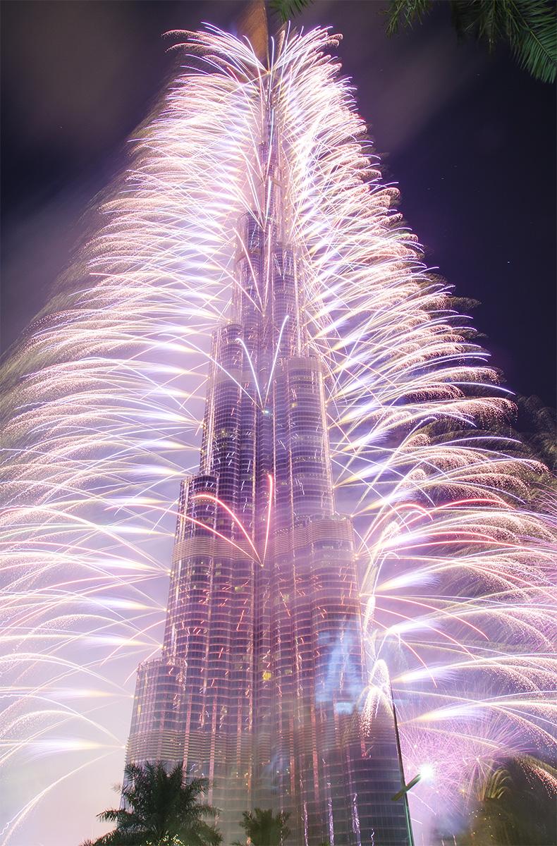 صورة خلفية ايفون لبرج خليفة - دبي