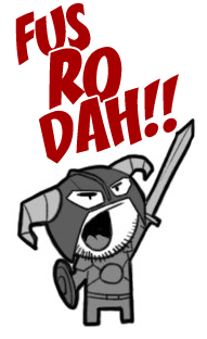 Fus Ro Dah! by DevilHS