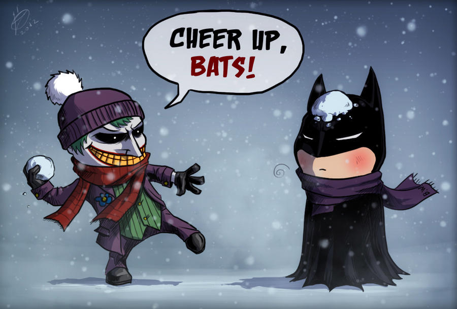 Snow in Gotham